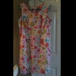 *3 for $25* Floral Dress Perfect for Spring/Easter
